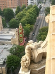 Fox theater from roof